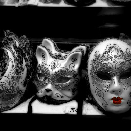 photography black & white color splash masks photostory