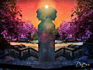 photography editchallenge statue lightflare