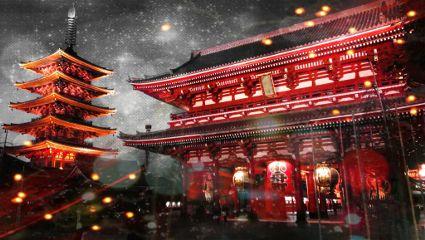 tokyo japan toru asakusa sensouji temple