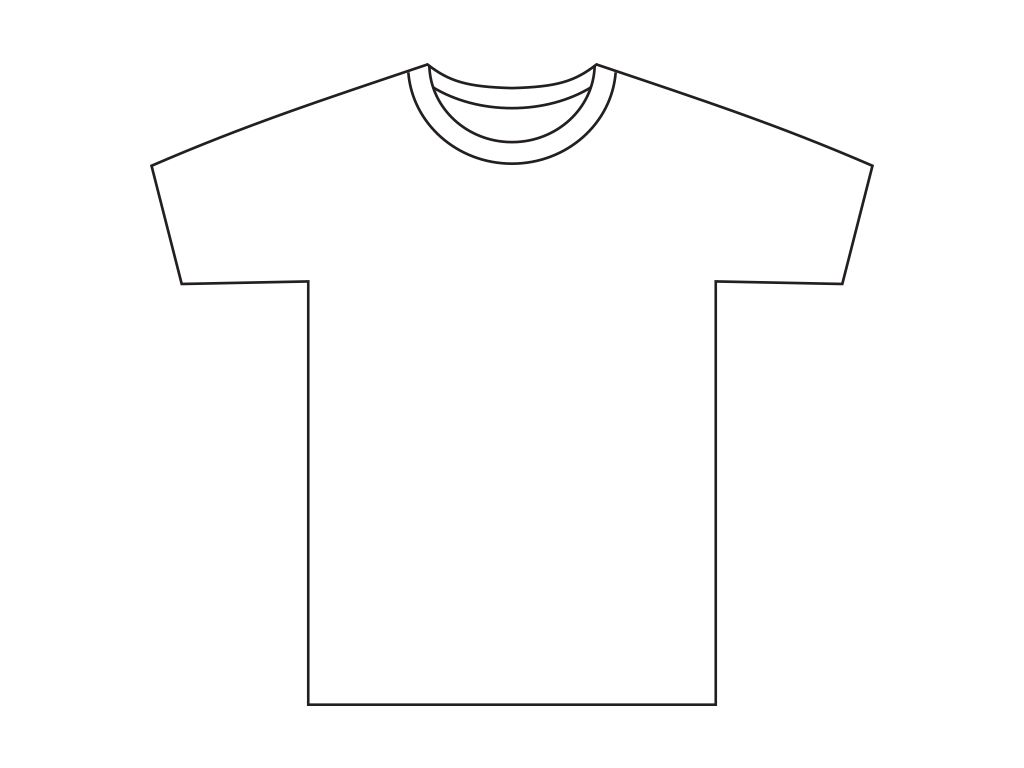 Design your t-shirt - Here Is A Sample T Shirt Sketch You Might Want To Use As A Base For Your T Shirt Design Free Your Creativity And Good Luck With The Design