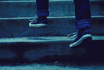levitation blue converse stairs levitate