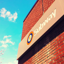 photography retro travel spring bluesky tube glasgow underground clockworkorange transport architecture